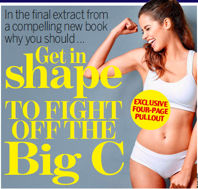 Exercise cancer Daily Mail